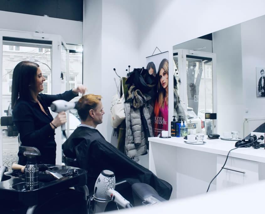 Friseur Herren Haarschnitt