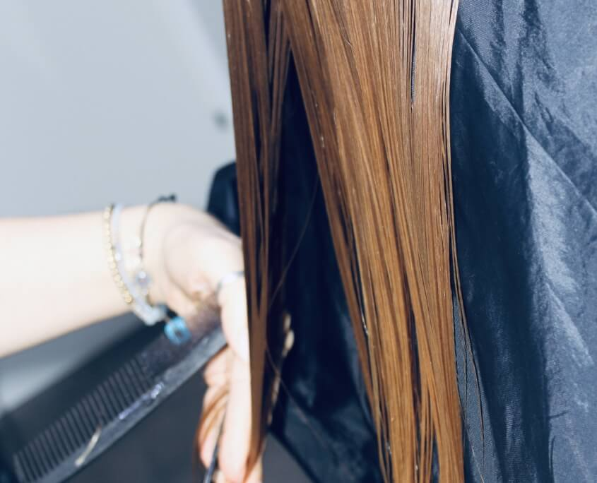 Haarsache Haare schneiden